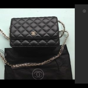 Chanel Quilted Leather crossbody VIP